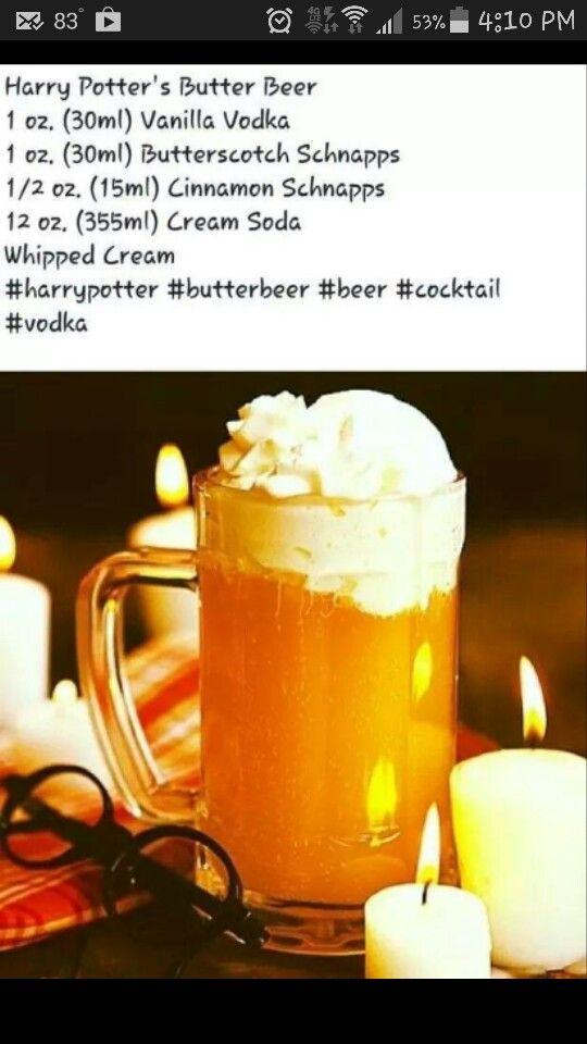 Harry Potter's butter beer
