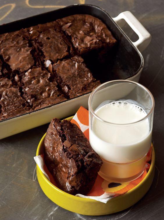 Rocco DiSpirito's Chocolate Black Bean Brownies