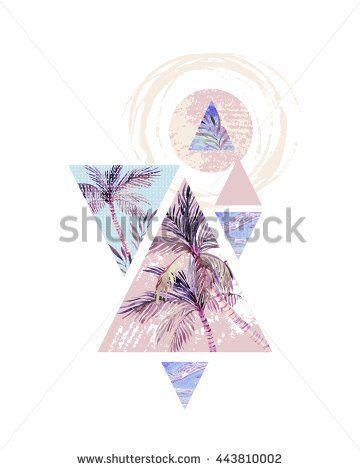 Turquoise Geometric Fotos, imagens e fotografias Stock   Shutterstock