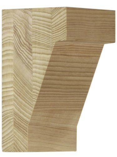 Medium Hemlock Craftsman Corbel 5 1 2 X 3 1 4 X 3