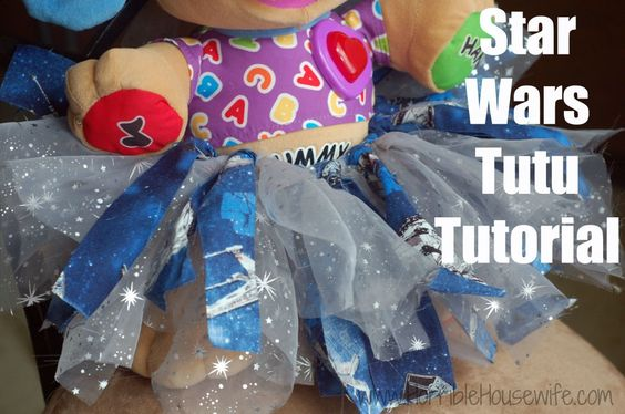 {Tutorial} Star Wars Tutu. This simple DIY tutu only requires a few hours to  make!