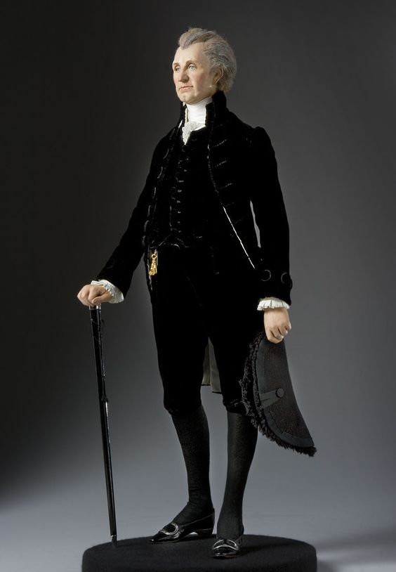 President James Monroe Doll - James Monroe studied law ...