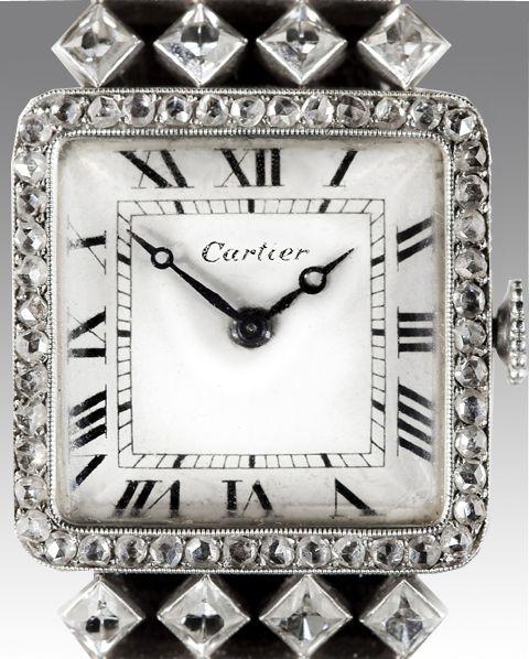 Resultado de imagen de reloj de pulsera cartier art decor