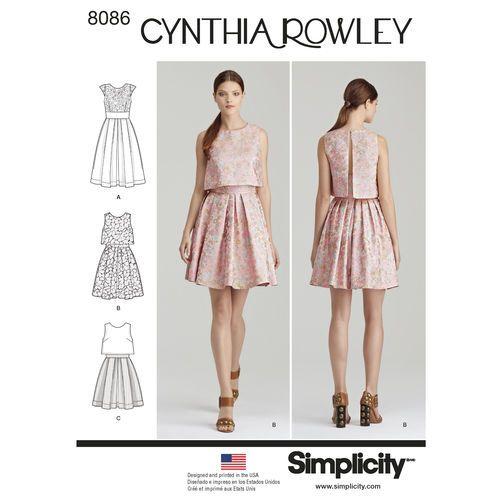 Resultado de imagen de simplicity party dress cynthia