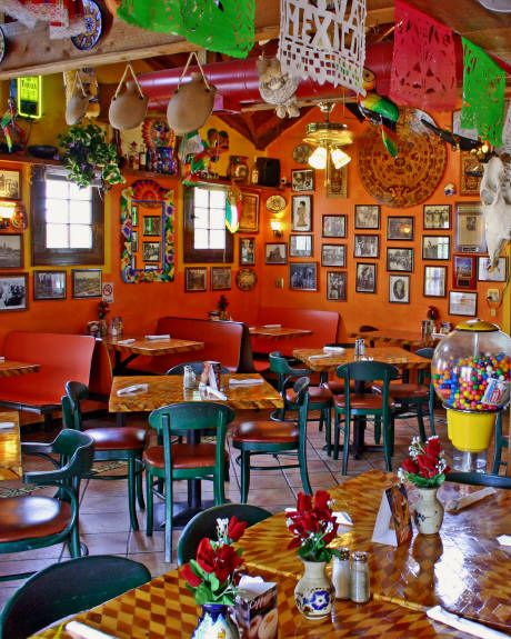 Mexican restaurants, Restaurant interiors and Mexicans on ...