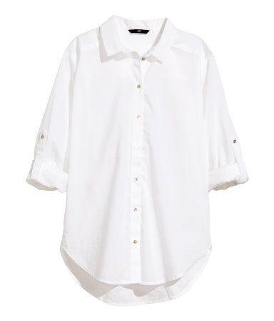 Cotton Blouse $15 Product Detail | H&M US