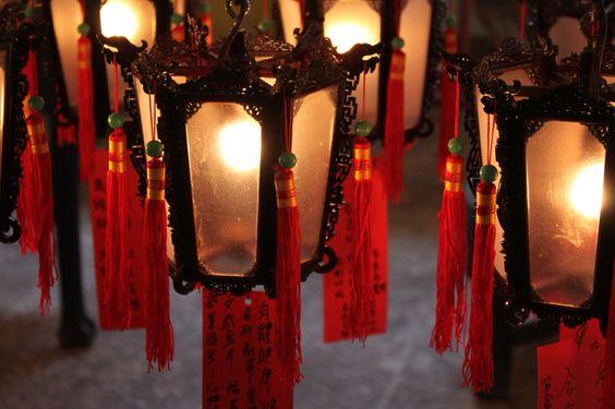 Man Mo Temple - Hongkong