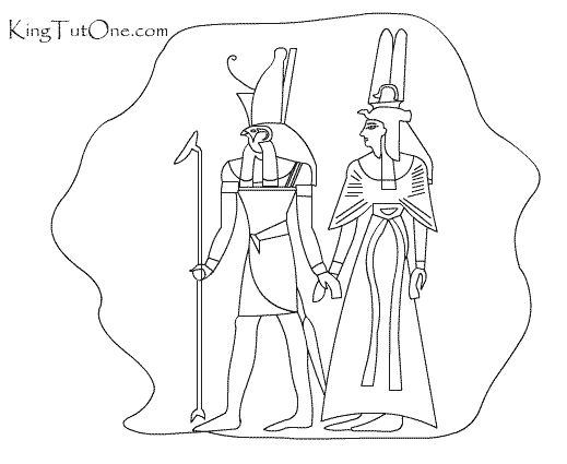 King Tut Coloring Page Home Sketch Coloring Page
