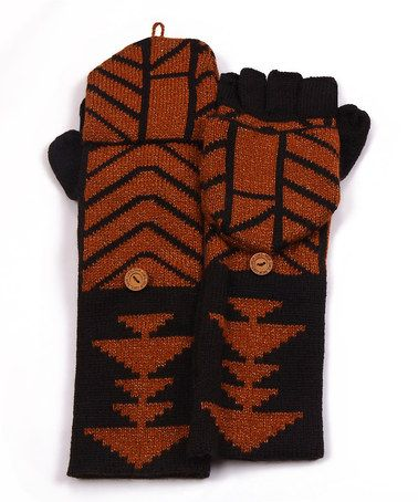 Look what I found on #zulily! Black North American Convertible Mittens - Women #zulilyfinds