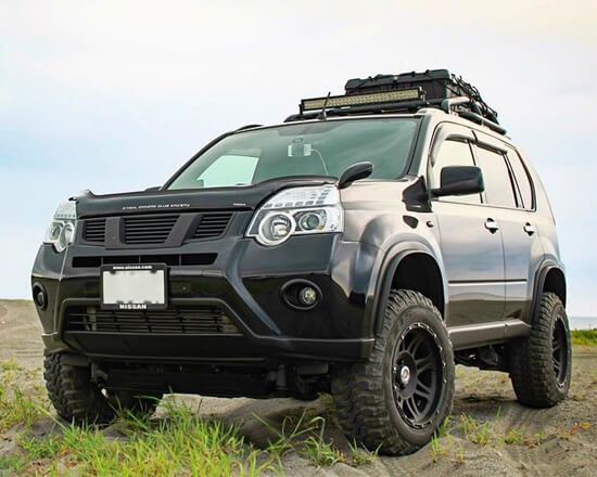 Picture Gallery Lifted Nissan X Trail With Off Road Mods Nissan Xtrail Nissan Nissan Xterra