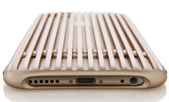 超々ジュラルミンの超々リッチな16万円iPhone 6ケース!