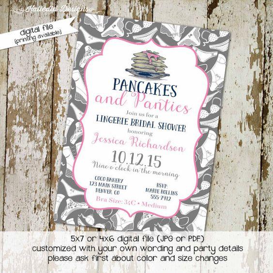 Bridal shower invitations, Shower invitations and Bridal shower on ...