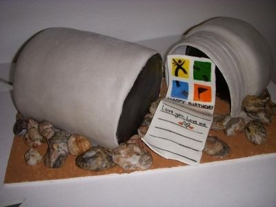 Geocaching cake!