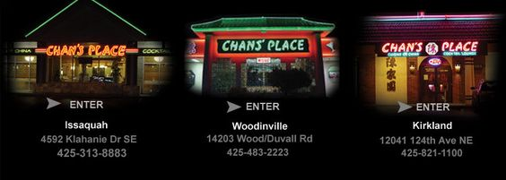 Chans Place Chinese Restaurant