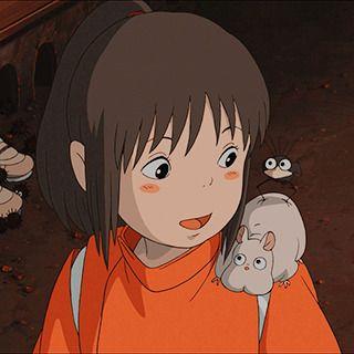 Chihiro Spirited Away Icon Em 2020 A Viagem De Chihiro Anime Estetico Ghibli