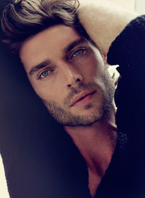 Donny Lewis... What is it about gorgeous men with blue eyes and scruff? Oh yeah, I know.:
