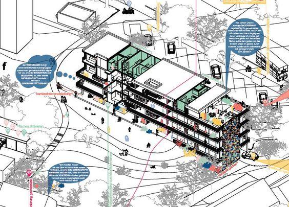 Architekten - Partner beim Bauen - Architektenkammer Niedersachsen: Wettbewerbsergebnis: Dringend benötigter Wohnraum kann schnell und mit hoher Qualität gebaut werden