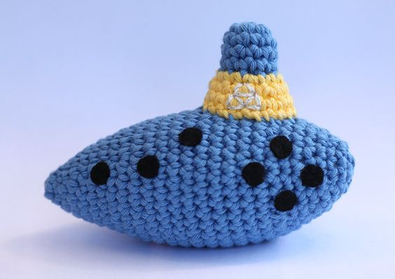 Crochet Ocarina Pattern  (would make a cute baby toy!)  $