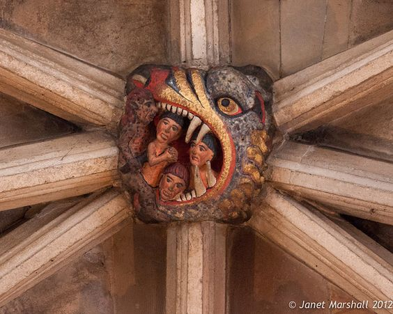Roof boss, Norwich Cathedral | Flickr - Photo Sharing!