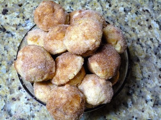 Oven Baked Apple Donuts