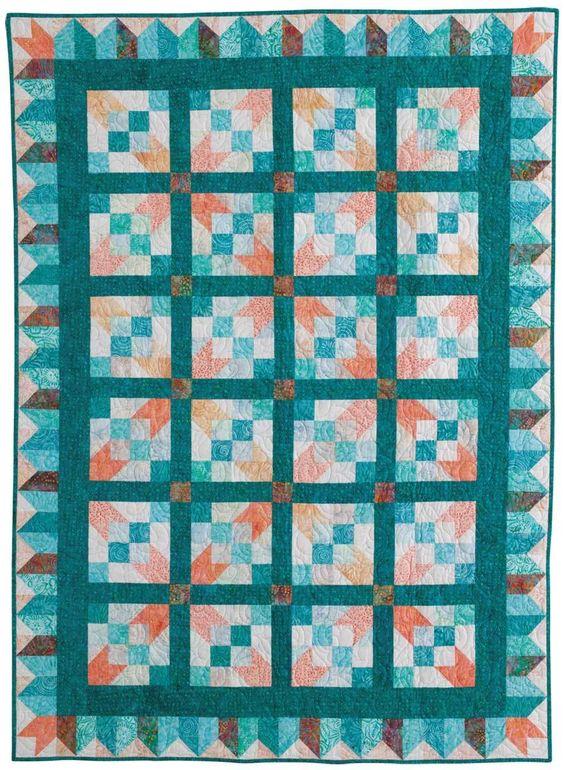 Lap quilt patterns, Lap quilts and Quilt patterns on Pinterest