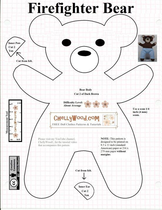 Pin On Free Plushy Stuffed Animal Patterns Pinterest