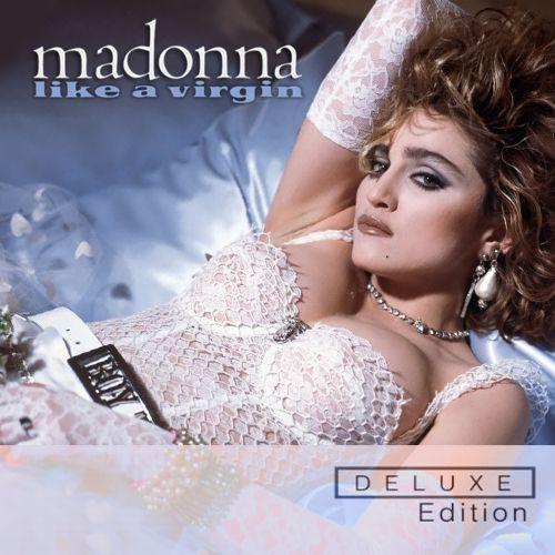Madonna – Like a Virgin (single cover art)