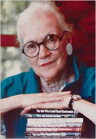 """Lilian Jackson Braun, author of the """"Cat Who"""" series. She died in July, 2011 at age 97."""