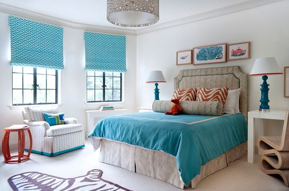 Colors for twin room - beautiful designs of Annsley McAleer of Annsley Interiors