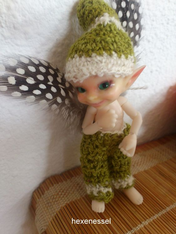 BJD OOAK Realpuki Soso reworked including cloths by HexenesselsArt on Etsy