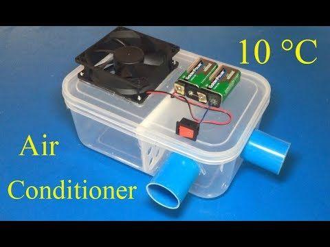 How To Make Air Conditioner At Home 10 C Max Cool Klimaanlage Selber Bauen Selber Bauen Anlage