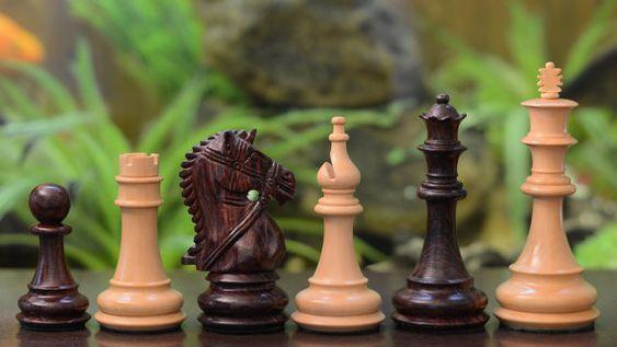 The Staunton Series Triple Weighted Club Chess by chessbazaarIndia
