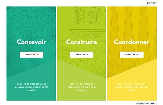 résidence mixte - #bits #featured vertical #split-panel-navigation color overlay #menu