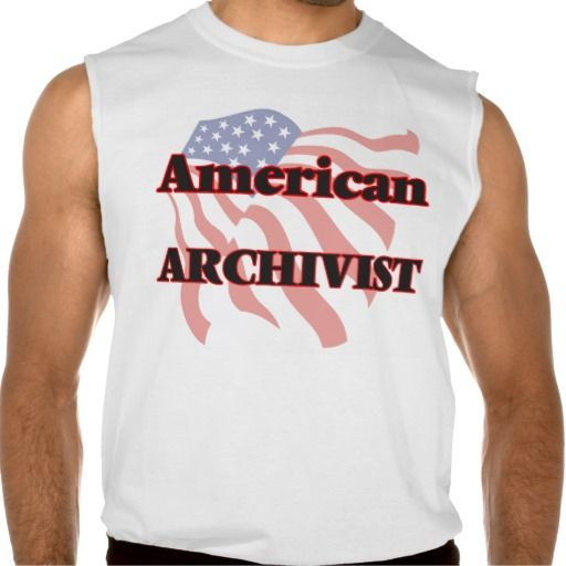 American Archivist Sleeveless T-shirt Tank Tops