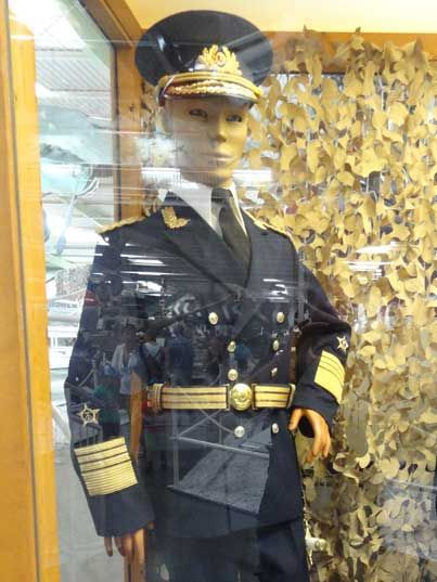 East German Navy Admiral uniform, only three persons have hold this rank; Waldemar Verner, Wilhelm Ehm, Theodor Hoffmann