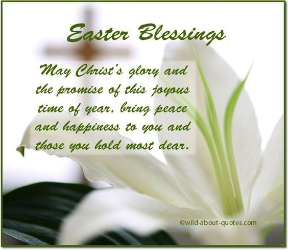 Easter Blessings To All Of My Family And Friends!