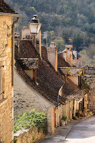 Rocamadour, France I have hiked up this street. LOVED the town!! Had so many great laughs with Alli here!: