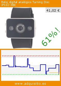 Reloj digital analógico Turning Disc IP102-3BK (Reloj). Baja 61%! Precio actual 41,02 €, el precio anterior fue de 105,50 €. http://www.adquisitio.es/the-one-binary/reloj-digital-anal%C3%B3gico