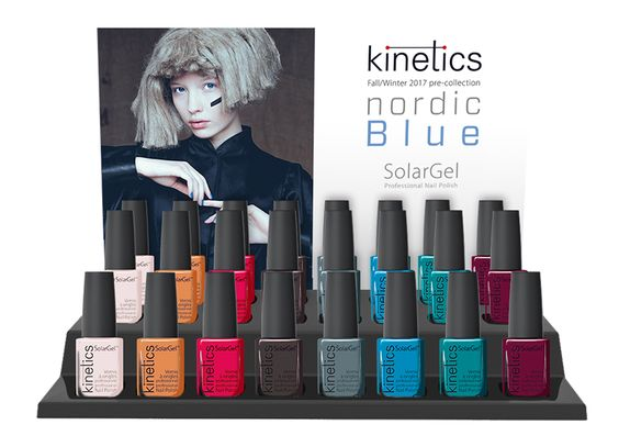 Nordic Blue FW 16/17 #kineticsnails #solargel #samecolor: