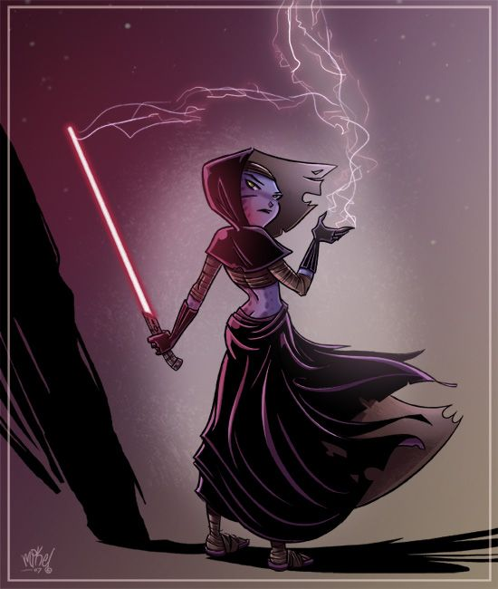 Darth Xia-lia by *mikemaihack