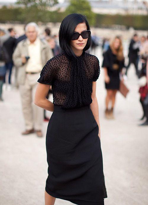Plumeti Shirt /// Black Style