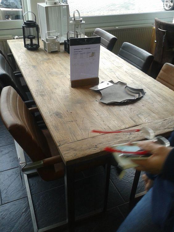 Mooie rustieke tafel