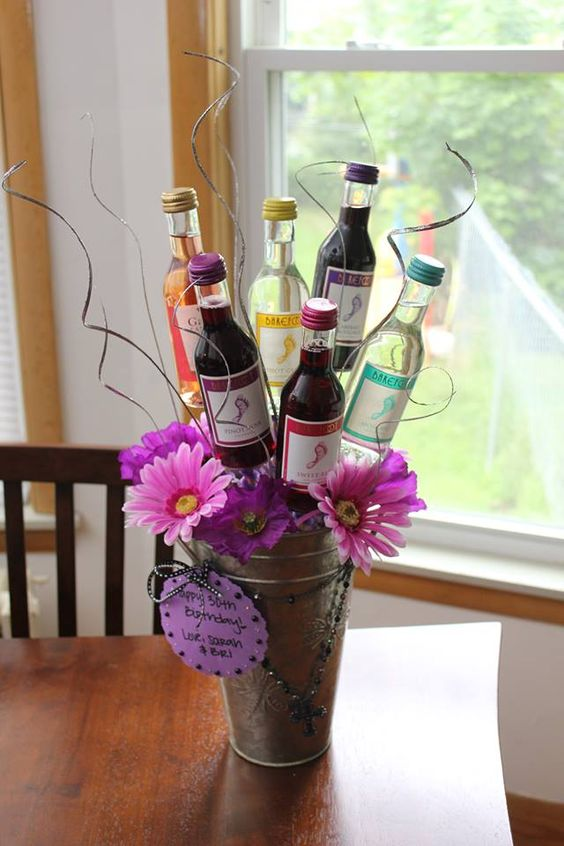 Wine Bouquet Party Ideas For Adults Pinterest My