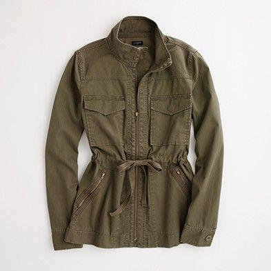 jcrew $125: Military Jackets, Jcrew Jacket, Crew Military, Ryden Military, Military Style, Factory Ryden, Jacket Jcrewfactory, Jcrew Factory