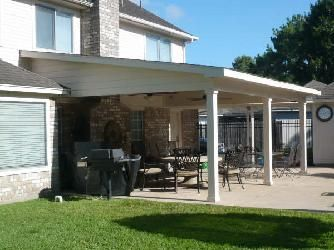 Outdoor Patio Extension And Patio Roof Line Makeover.