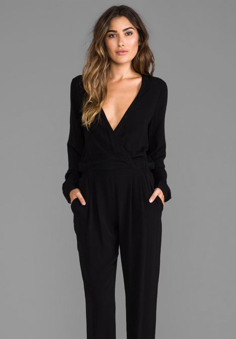Black Jumpsuit Long