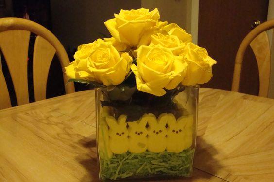 Easter flower rose arrangement