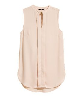 Sleeveless blouse | H&M US