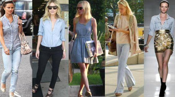 vestido jeans simples e perfeito