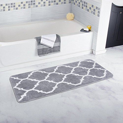 Bathroom Shower Rug Geometric Bath Mats